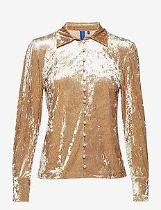 Kathryn shirt - CHAMPAGNE