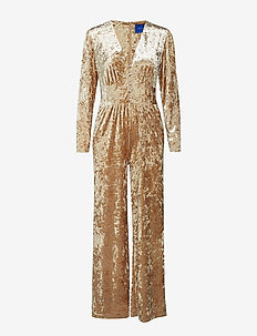 Kennedy jumpsuit - CHAMPAGNE
