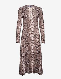 Paris dress - WOOD