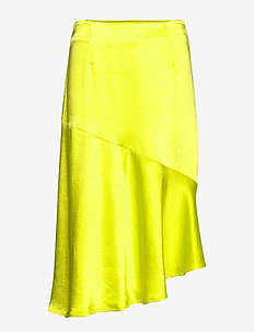 Puk skirt - NEON YELLOW