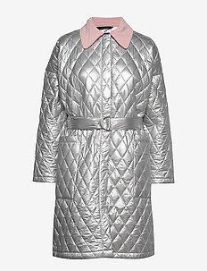 Palma coat - SILVER