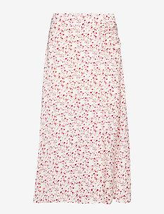 Olive skirt - WHITE