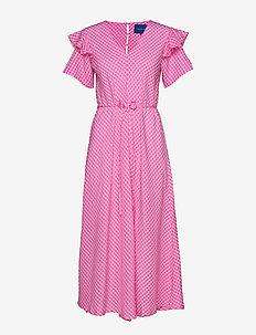 Odelia dress - BERRY