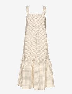 Oxford dress - SAND