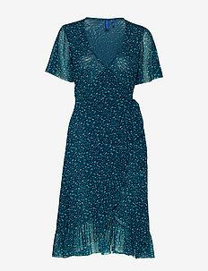 April dress - NAVY