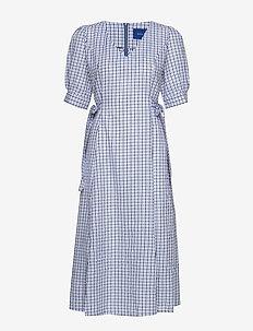 Taja dress - BLUE