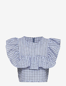 Tahia top - hihattomat topit - blue