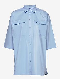 Tinsley shirt - lyhythihaiset paidat - sky