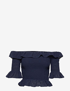 Tish top - basic t-shirts - navy