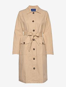 Tamara coat - trenchcoats - sand