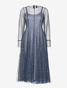 Roma dress - DUSTY BLUE