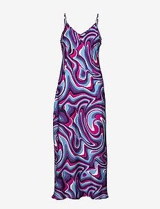Rosah dress - DUSTY BLUE
