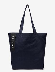 Utana Totebag - casual shoppers - navy
