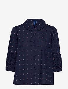 Saga shirt - NAVY