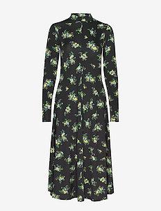 Sofie dress - maxi jurken - black