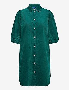 Apple Dress - skjortekjoler - ocean green