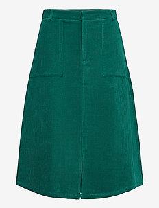 Anais Skirt - midi skjørt - ocean green