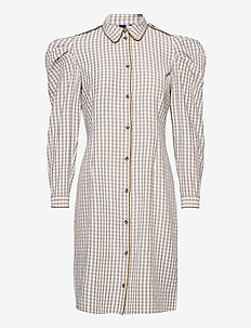 Alisha Dress - skjortklänningar - wood