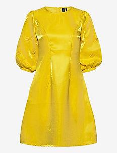 Abigail Dress - korta klänningar - yellow