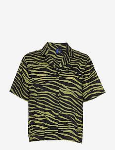 Utah Shirt - overhemden met korte mouwen - olive