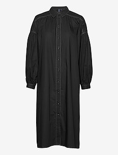 Venus Dress - skjortekjoler - black