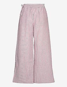 Vella Pant - bukser med brede ben - red