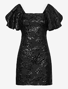 Brenda Dress - korte jurken - black