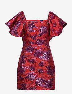 Brenda Dress - korte jurken - pink