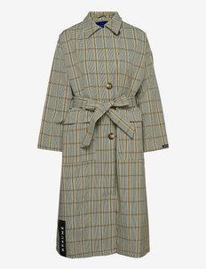 Gaia RS Coat - lette frakker - light olive