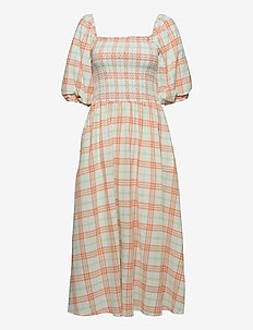 EbonyRS Dress - everyday dresses - copper