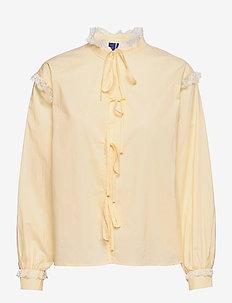 EdithRS Shirt - long sleeved blouses - sunshine