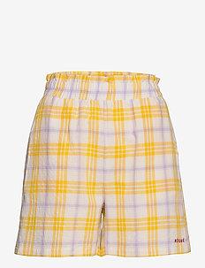 EvaRS Shorts - casual shorts - yellow