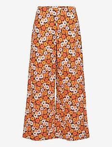 FalkieRS Pant - bukser med brede ben - brown