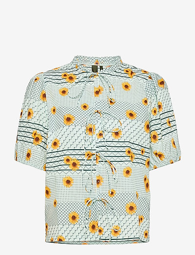 FridaRS Blouse - kortærmede bluser - mint