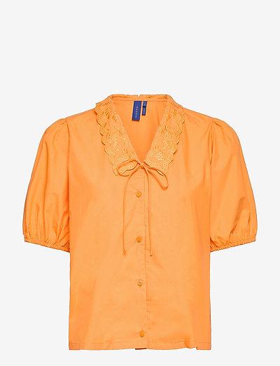 FalakRS Blouse - kortærmede bluser - saffron