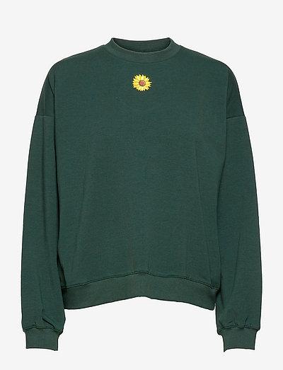 FleurRS Sweat - sweatshirts - deep green