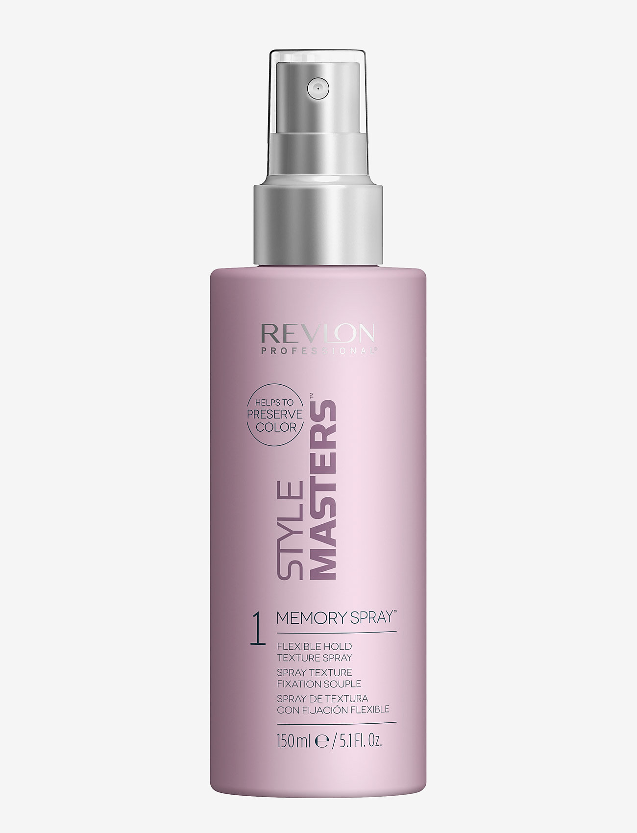 Revlon Professional - STYLE MASTERS STYLING MEMORY SPRAY - hiuslakat - no color - 0