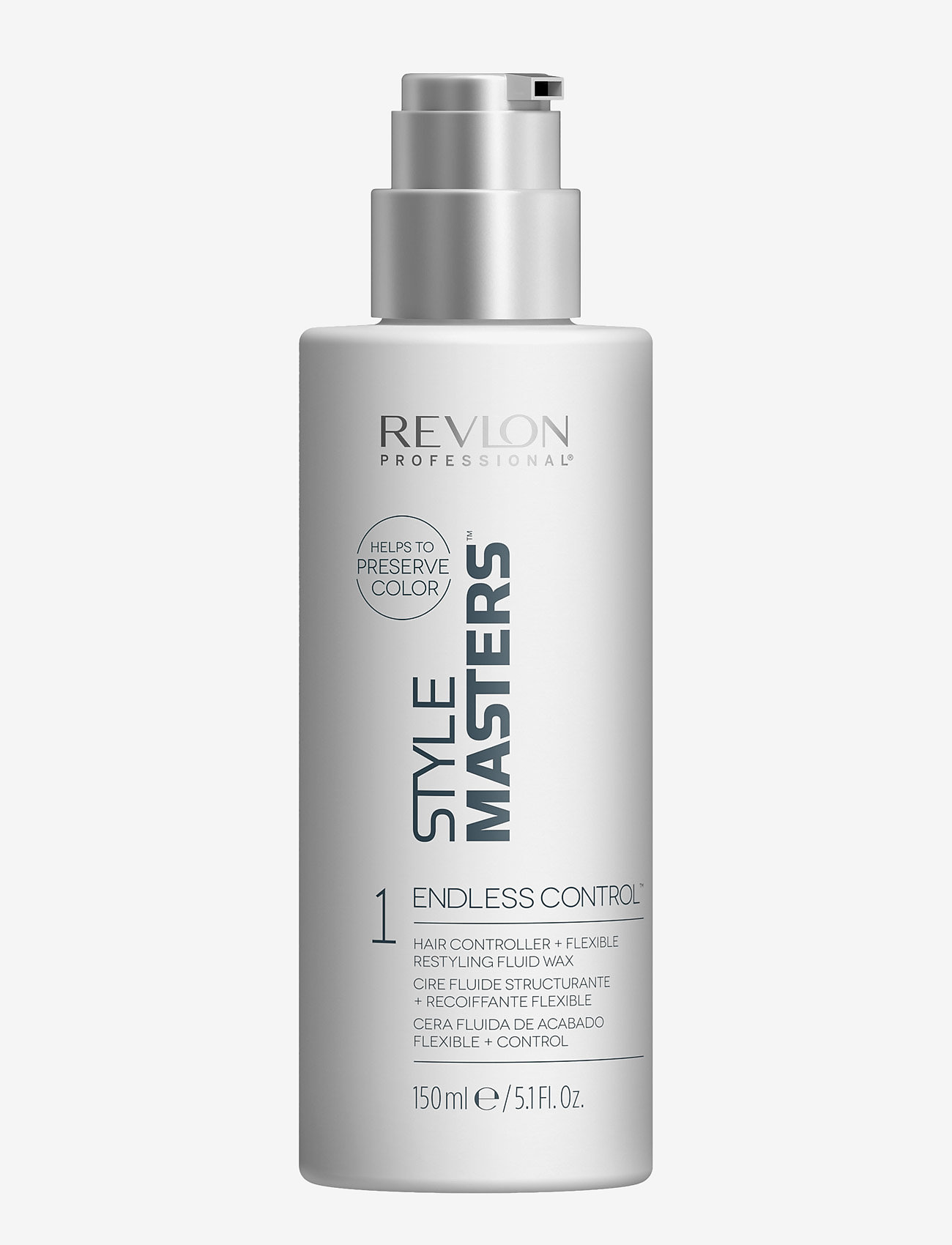 Revlon Professional - STYLE MASTERS STYLING ENDLESS CONTROL - vahat & geelit - no color - 0