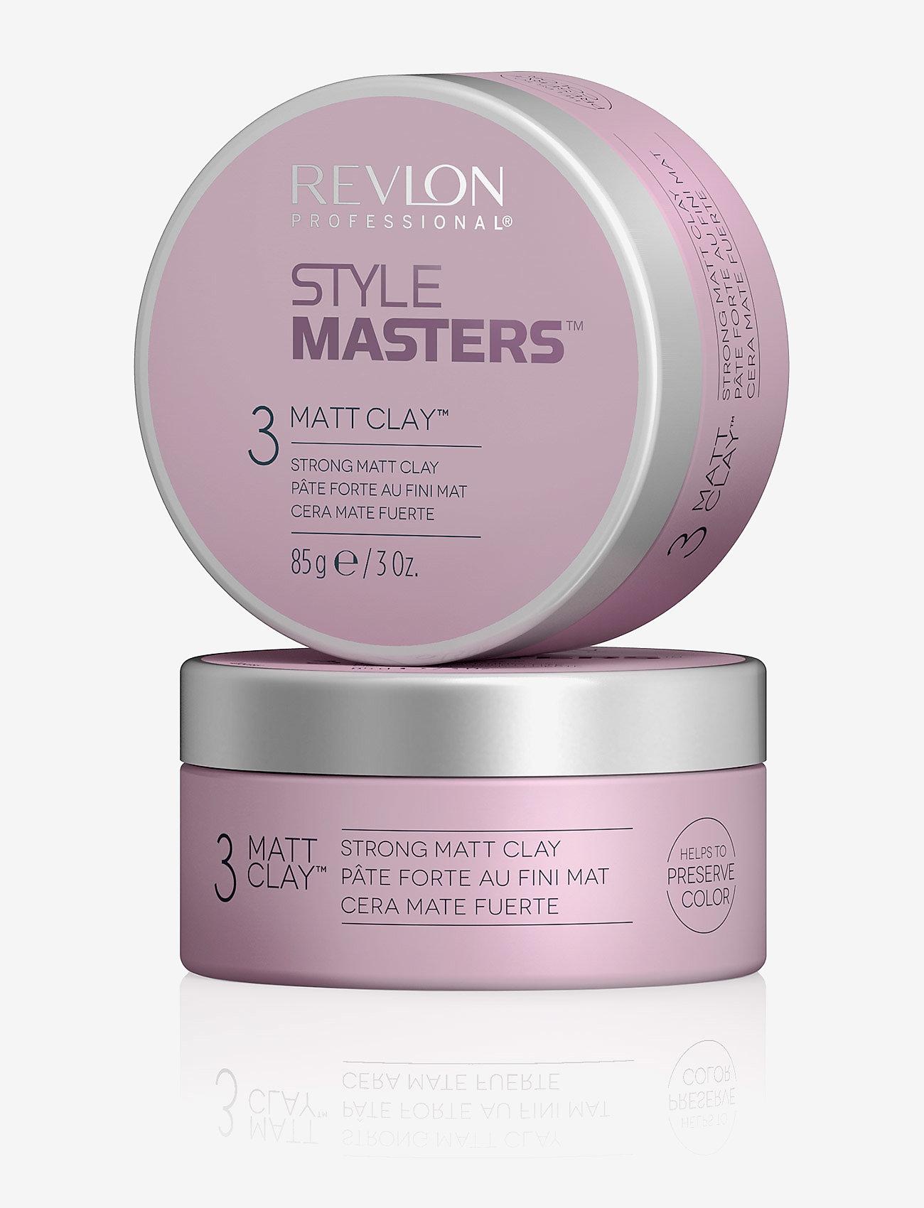 Revlon Professional - STYLE MASTERS STYLING CREATOR MATT CLAY - vahat & geelit - no color - 1