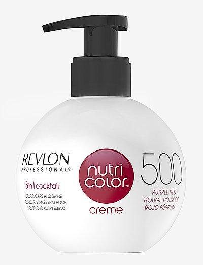 NUTRICOLOR CREME BOMBE - hårkurer - 500 purple red