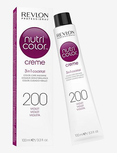 NUTRICOLOR CREME TUBE 200 VIOLET - hårkurer - 200 violet