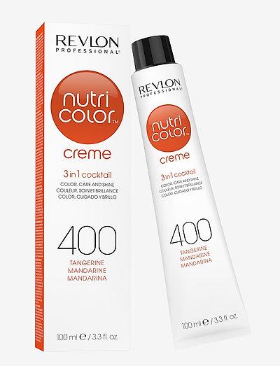NUTRICOLOR CREME TUBE 400 TANGERINE - hårkurer - 400 tangerine
