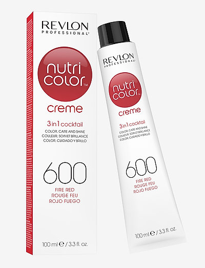 NUTRICOLOR CREME TUBE 600 FIRE RED - hoidot - 600 fire red