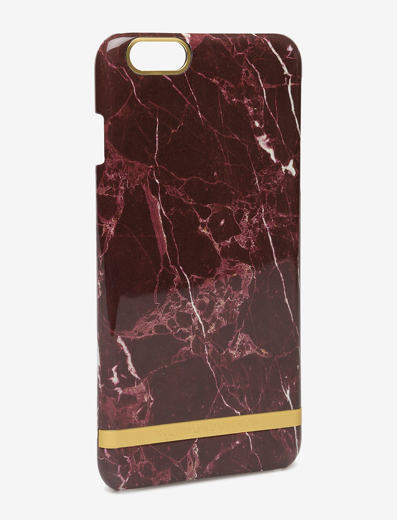 Richmond & Finch - Red Marble Glossy Iphone 6PLUS - puhelimen kuoret - red marble - 1