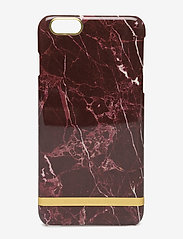 Richmond & Finch - Red Marble Glossy Iphone 6PLUS - puhelimen kuoret - red marble - 0