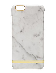 White Marble Glossy Iphone 6PLUS - WHITE MARBLE