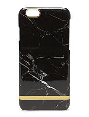 Black Marble Glossy Iphone 6/6S - BLACK MARBLE