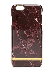 Red Marble Glossy Iphone 6/6S - RED MARBLE