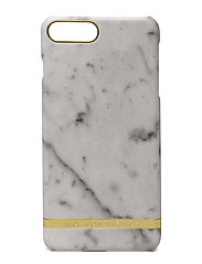 White Marble Glossy Iphone 7PLUS - WHITE MARBLE