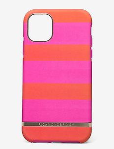 Magenta Stripe iPhone 11 - mobilskal - magenta stripe